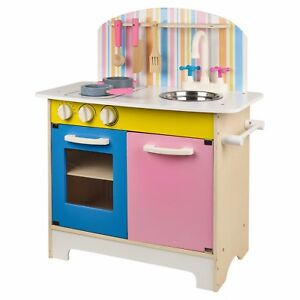 Kids-25pc-Wooden-Kitchen-Set-Pretend-Play-Toys-Cooking-Chef-Educational-Gift-Box