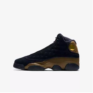 97b293cbed19 New Air Jordan Youth Retro 13 GS Shoes (884129-006) Black Light ...