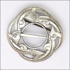 Norwegian Silver 'Dragonstyl' Brooch - KNUT P