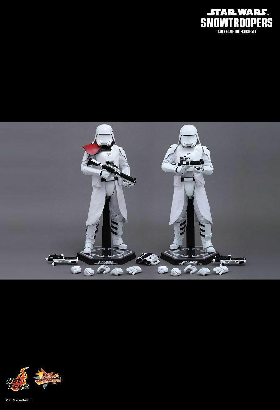Caliente giocattoli estrella guerras MMS323 Stormtroopers  - Snowtroopers - Set of 2 - NUOVO  prezzi bassi