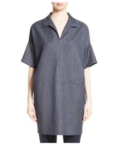 MAX MARA, 100% Wool Tunic Dress, Size 12 US, 14 GB, 42 DE, 46 IT