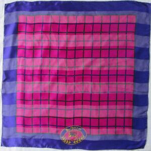 05c2029d9fa Superbe foulard BURBERRYS soie TBEG vintage scarf 87 x 89 cm
