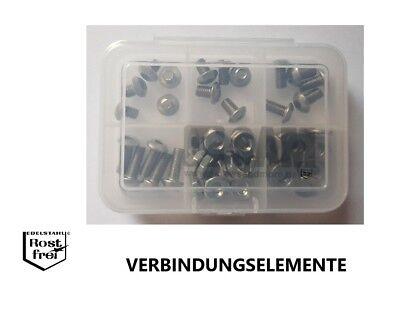 10 Zollschrauben Linsenkopf Innensechskant EDELSTAHL A2 SCHWARZ No.10-24X1 UNC