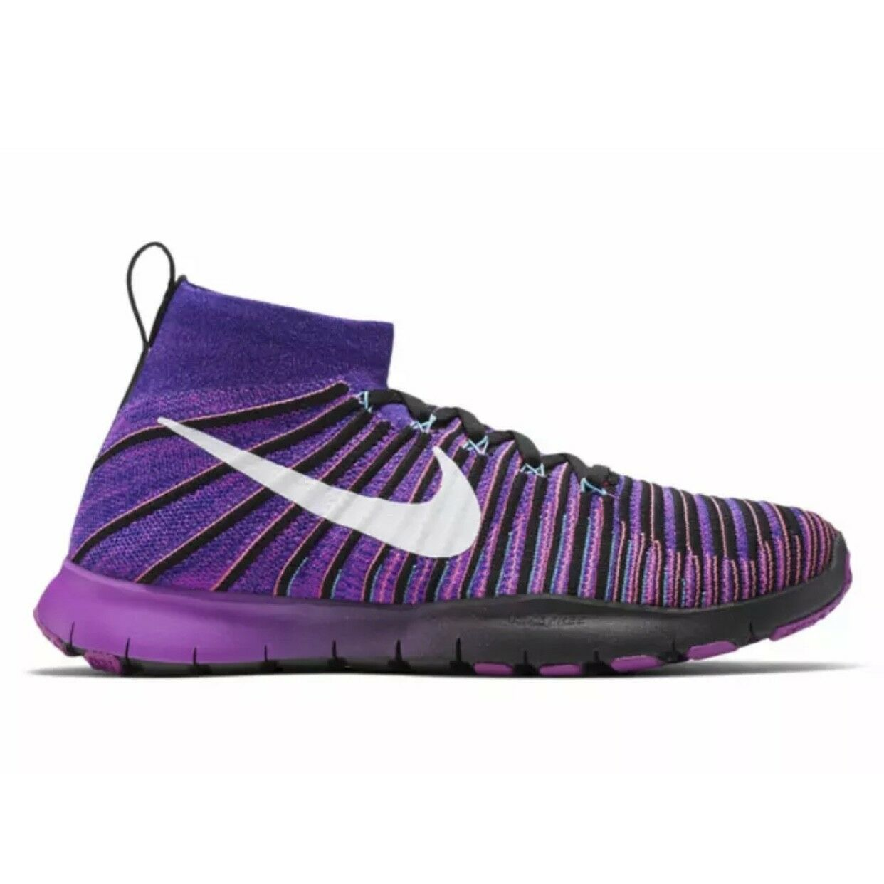 Nike Free TR Shoes Force Flyknit Concord/Vvd Purple Shoes TR (833275 451) Size 10 b0fe31