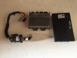 Details about Renault Espace 2 2 DT ECU 7700106071 , Fuse Box 6025316604  And Ignition Barrel