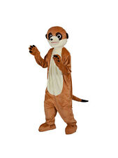 Adult Meerkat Mascot Outfit Fancy Dress Costume Animal Mens Ladies Gents Womens