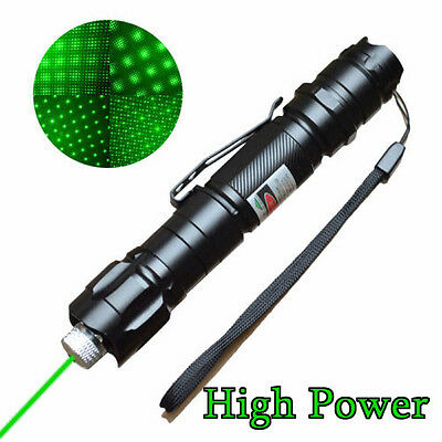 Green Laser Pointer Pen 5miles 532nm 1mw  Laser cap