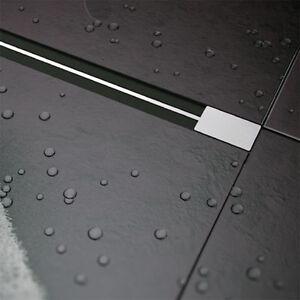 design slim duschrinne ablaufrinne flach bodenablauf dusch duschablauf. Black Bedroom Furniture Sets. Home Design Ideas