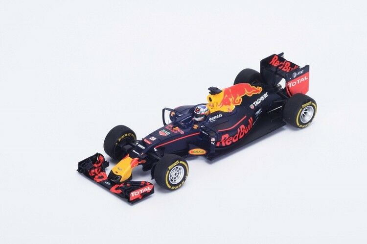 Red Bull Daniel Ricciardo Monaco GP 2016 Resin Model Car in 1 18 Scale by Spark