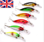 6 x Set of 3g,7cm rattling plug Fishing Lure pike salmon trout perch treble #23