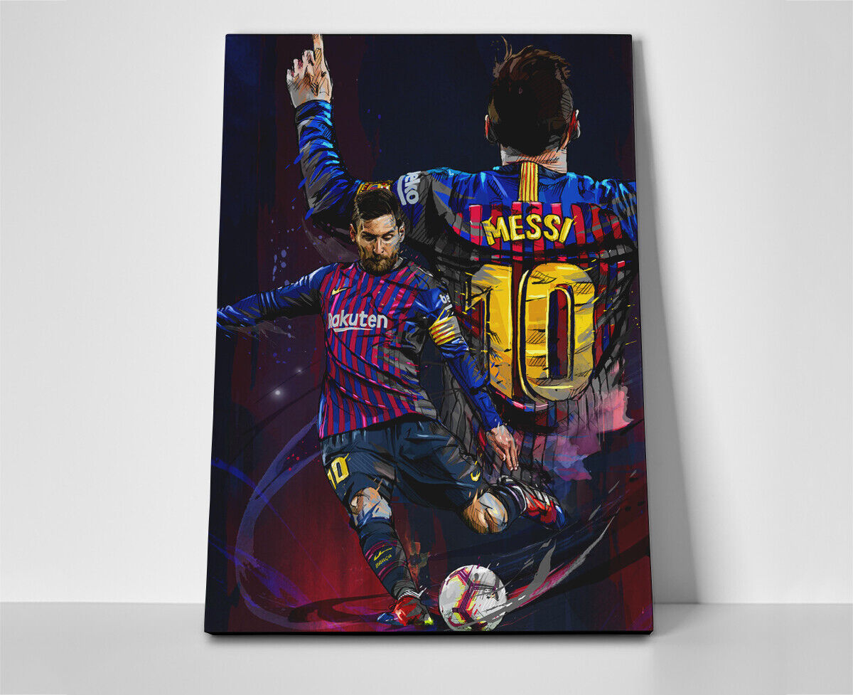 Lionel Messi FC Barcelona Poster or Canvas