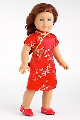 Asian Beauty - Doll Clothes for 18 American Girl, Traditional Chinese Dress Shoe
