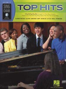 Candide Chanter Avec Le Choeur Top Hits Vocal Sheet Music Book With Audio Access-afficher Le Titre D'origine