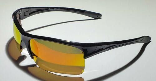 Men/'s POLARIZED Sunglasses Sport Half Frame Premium TAC Polarized Lens New 5012