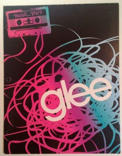 Mixed Tape Glee 2 Pocket 3 Ring Folder Picture RARE VHTF VTG 2011 Cool