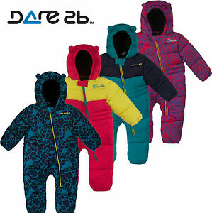 Dare2b-Snuggler-Insulated-Padded-Kids-Snowsuit-Girls-Boys-Baby-All-In-One-Suit