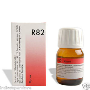 Détails : Dr Reckeweg Germany R82 Anti Fungal Drops Homeopathic Medicine  Fungal Infections