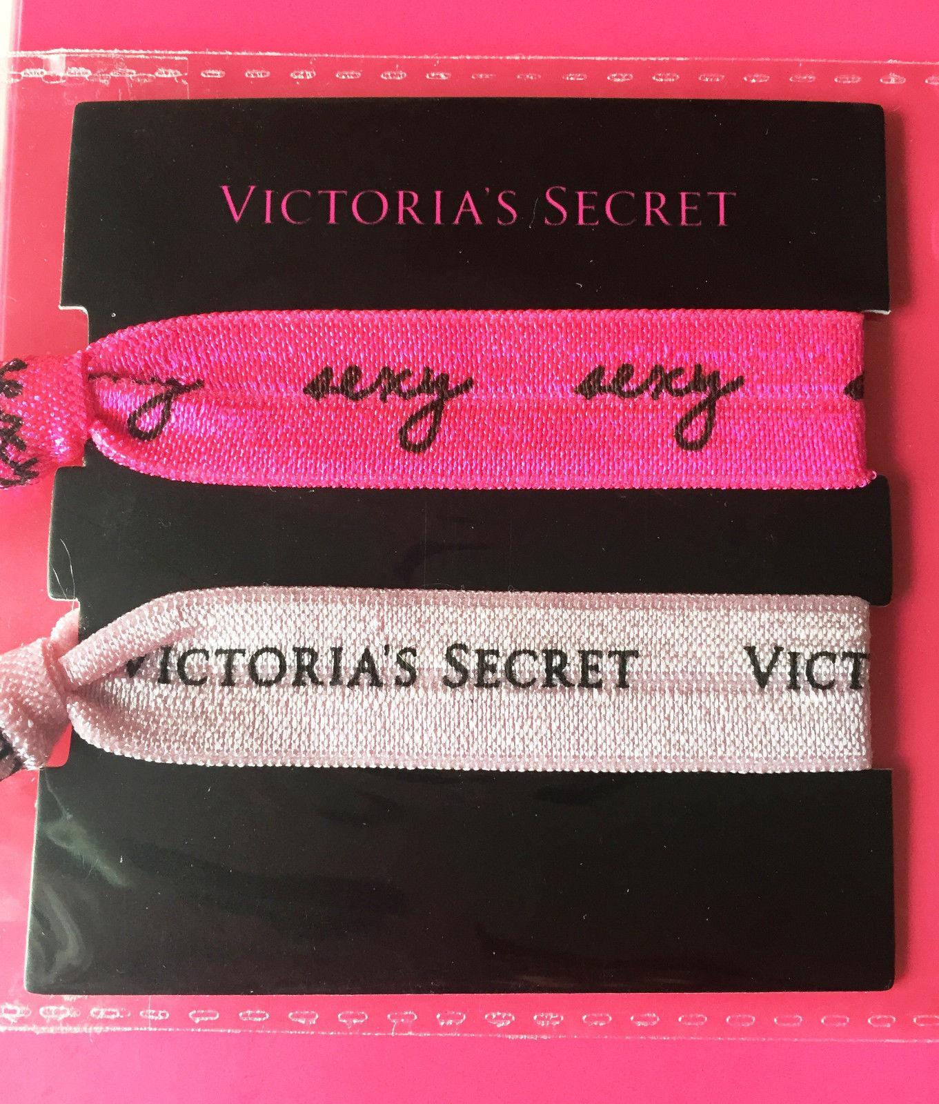 ! nuevo! Victoria's Secret lazos para el cabello-conjunto de dos-precio minorista sugerido por el fabricante