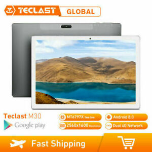 "Teclast M30 10.1"" pollice 4G Tablet eBook reader Phablet Android 8.0 3GB+64GB EU"