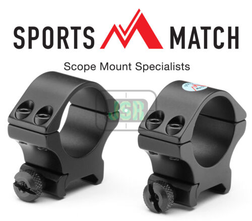 SPORTSMATCH TO78 30mm Tube Weaver Picatinny RIS Rifle Scope Mounts Rings 50mm