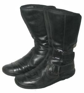 """fertige"" Motorradstiefel / Biker- Stiefel / Boots in schwarz ca. Gr. 39,5"