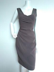 usato ginocchio Taglia una Designer Dress lato volta arricciato Bennett al 12 Shift Lk wwaYpq6