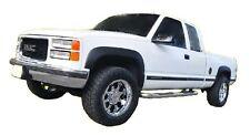 1988-1998 Chevrolet GMC C/K 1500 Truck Fender Flares Smooth Matte Black NEW
