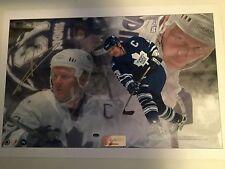 Mats Sundin Toronto Maple Leafs hockey signed print w/COA