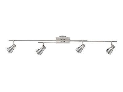 Deckenstrahler 4-flammig Küchenlampe Flur Lampe Deckenlampe Strahler 4 X Gu10