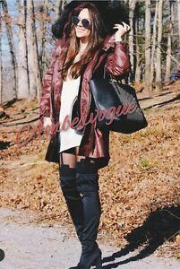 Manteau Fourrure Avec Fausse Xs Amovible Parka En Capuche Taille 6 Zara 50SwO5