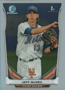 Jeff-McNeil-2014-Bowman-Chrome-1st-Rookie-Card-Mets-BCP56-QTY
