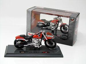 Modelo-de-motocicleta-1-18-Harley-Davidson-Breakout-ano-de-fabricacion-2016-Orange-maisto