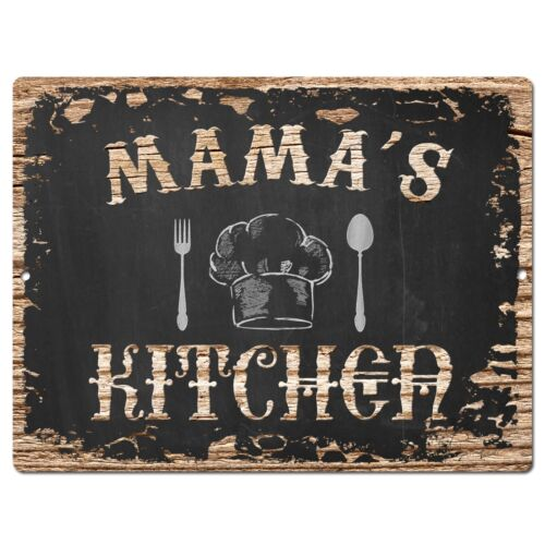 PP1690 MAMA/'S KITCHEN Plate Chic Sign Home Room Kitchen Decor Birthday Gift