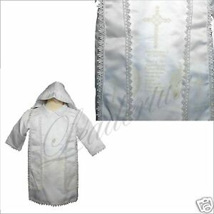 NEW-INFANT-BOY-CHRISTENING-BAPTISM-GOWN-SUIT-NEW-BORN-TO-24-MONTHS-WHITE