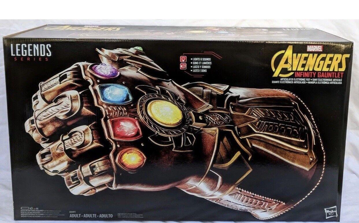 NEUF-avengers legends Gear Infinity Gauntlet (Infinity guerre THANOS)