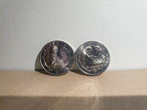 Lot 2 x 2 Euros Commémorative Luxembourg 2020 Naissance UNC