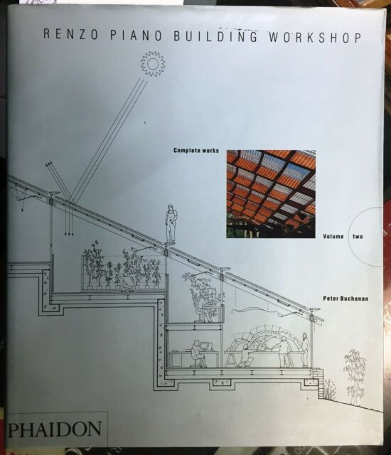 (Architettura) RENZO PIANO BUILDING WORKSHOP -COMPLETE WORS-VOLUME TWO -Phaidon