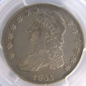 1835-Capped-Bust-Half-Dollar-PCGS-XF-40-Cert-24338858-REDUCED