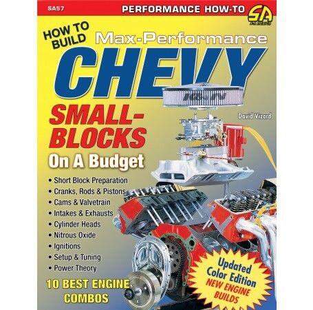 Low Cost Max-HorsePower Chevy Small Block Engine Manual 400 350 327 302 283 SA57