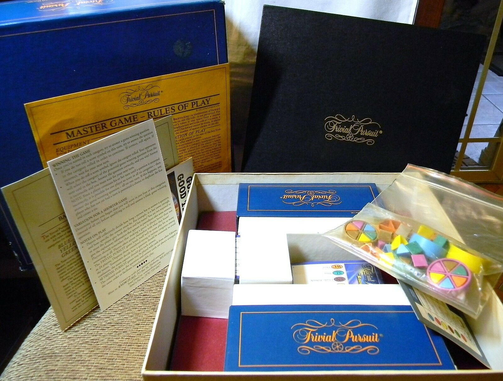 TRIVIA PURSUIT MASTER BOARD GAME GENIUS EDITION EDITION GENIUS 650524