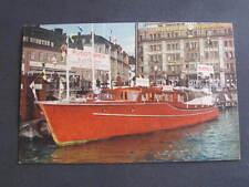 Sverige Sweden Stockholme Taxi Boat Postcard postally used