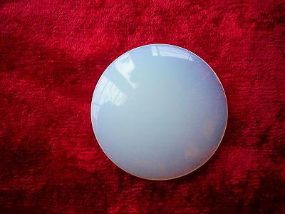 opalite meditation disc inc organza bag
