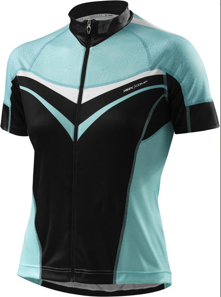 Specialized Cycling Womens RBX Comp Jersey SS Black light Teal Large L for  sale online  931fbfe28