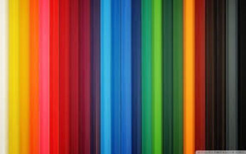 100 découpis Papier Bandes en différentes couleurs - 5 mm large
