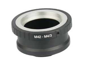 M42-M4-3-Lens-Adapter-for-M42-Screw-Mount-Lens-to-M4-3-Mount-Camera-UK-STOCK