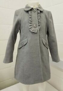fb85e964ce03 AW18 Spanish Traditional wool Coat Frill Detail RED or Grey 2-6 ...