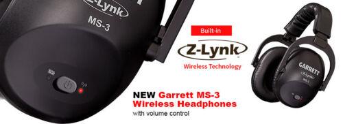 cabrá la mayoría de detectores de metal Garrett Nuevo MS-3 Garrett Z-Lynk ™ Wireless Kit