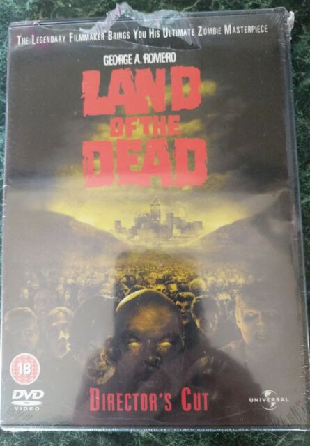 Land Of The Dead (DVD, 2008, Director's Cut) Brand New & Sealed