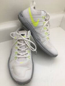 7c44988d32a6 Men 7 NIKE Lunar Trainer 1 TR1 Shoes White Volt yellow Gray 652808 ...