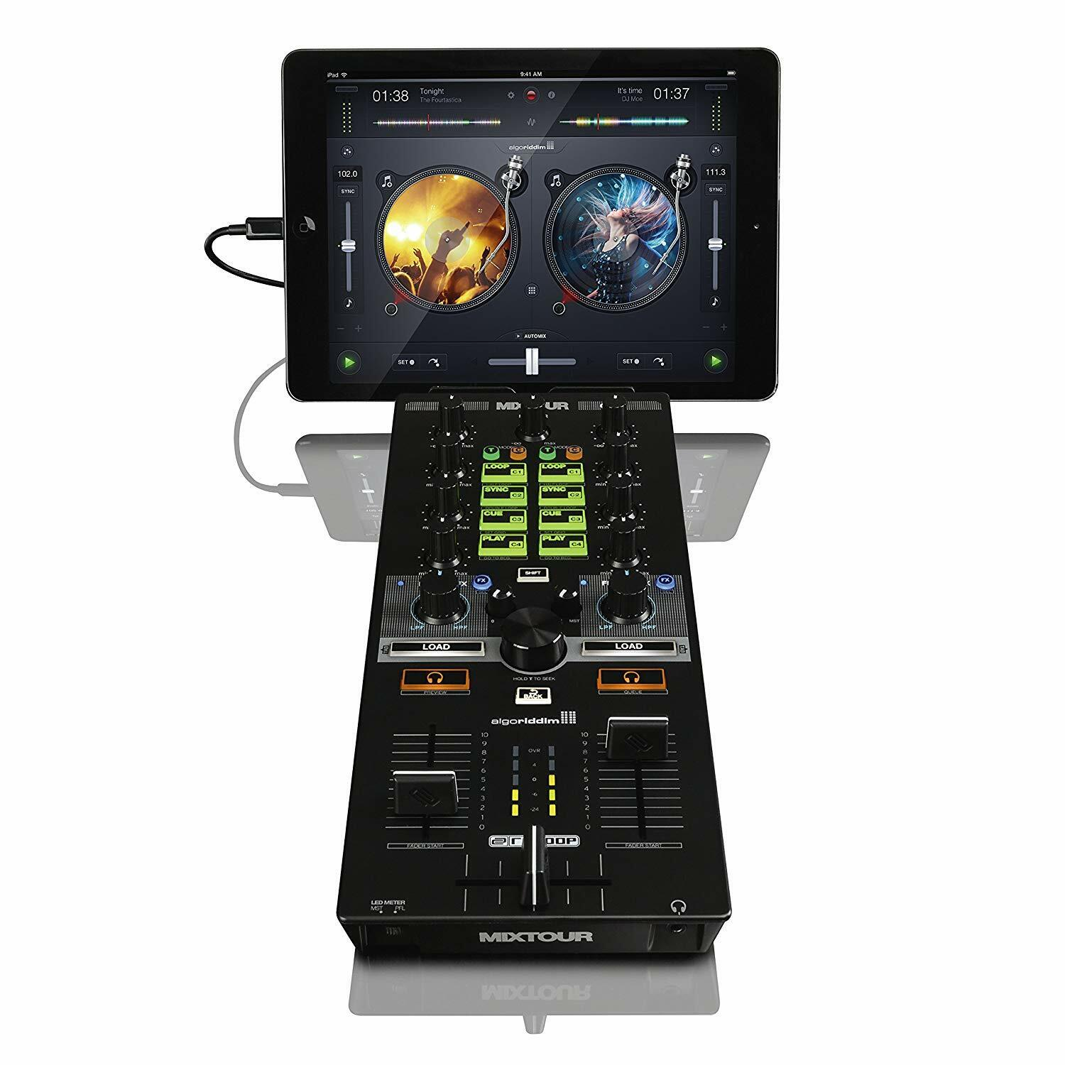 Reloop AMS-MIXTOUR All-In-One Controller with Audio Interface